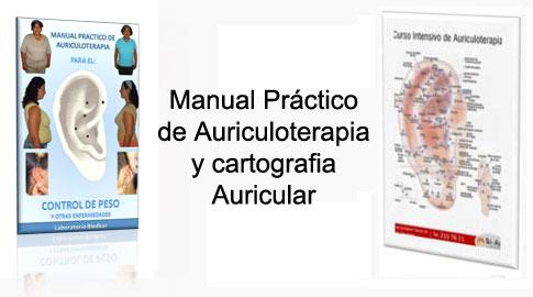 Material didactico para el curso de auriculoterapia