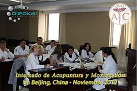 grupo del internado en clases de medicina tradicional china