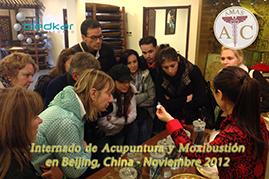 el grupo realiza recorridos turisticos durante los fines de semana del curso de acupuntura