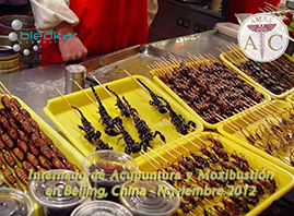 alimentos tipicos durante el curso de acupuntura en china